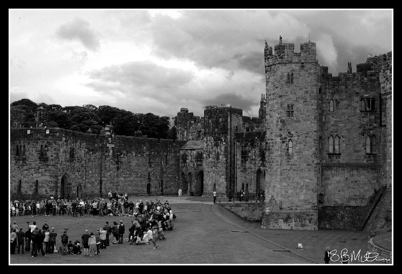 Alnwick Castle: Photograph by Steve Milner
