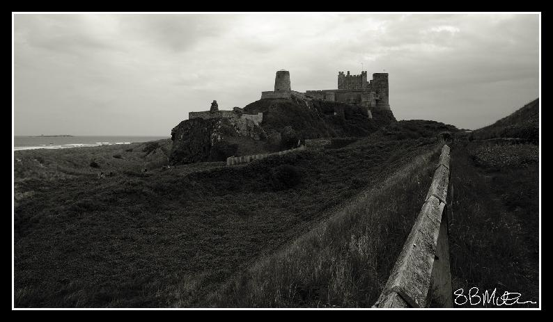Bamburgh Castle: Photograph by Steve Milner