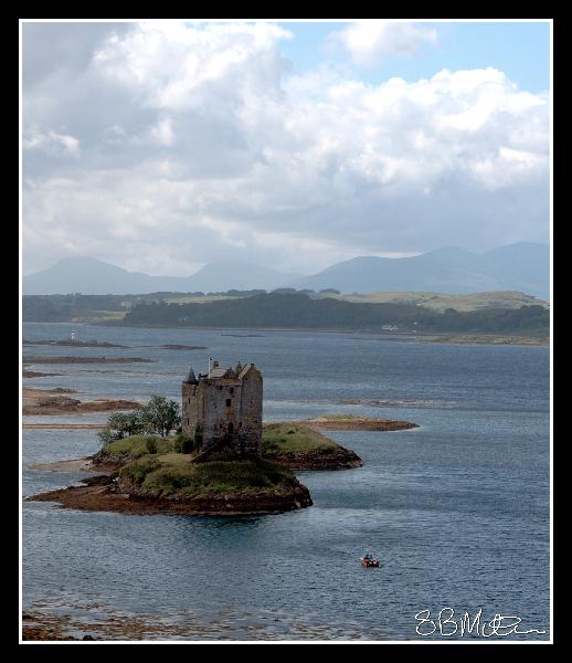 Castle Stalker: Photograph by Steve Milner