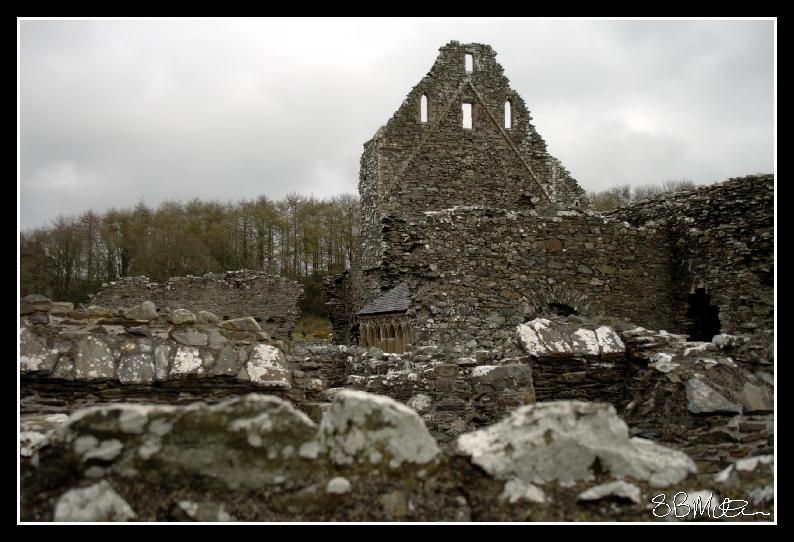 Glenluce Abbey: Photograph by Steve Milner