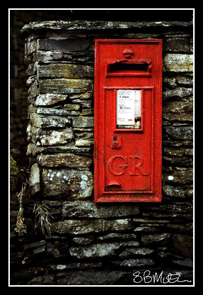 Old Post Box: Photograph by Steve Milner