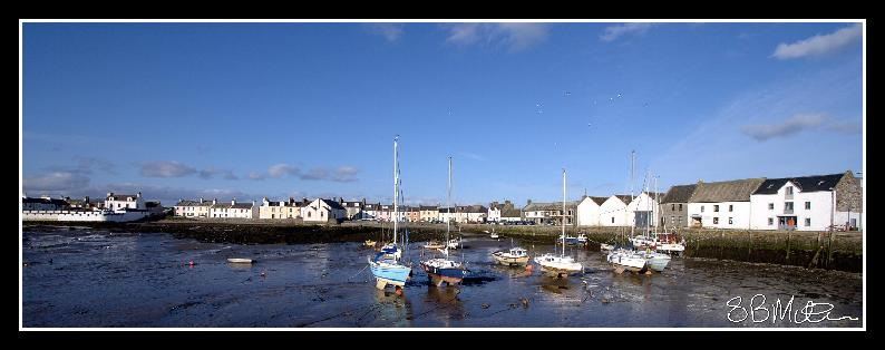 Isle of Whithorn: Photograph by Steve Milner
