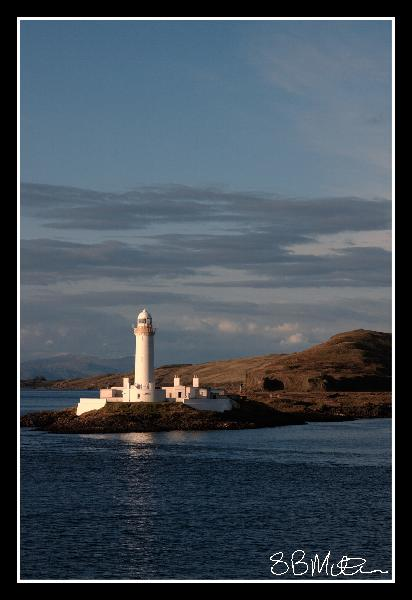 Lismore Lighthouse in Focus: Photograph by Steve Milner