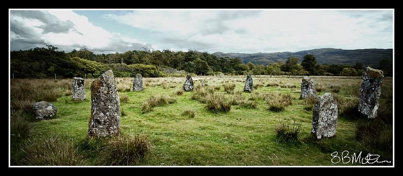 Lochbuie Stone Circle: Photograph by Steve Milner