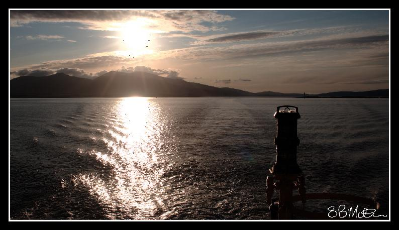 A Sunset over the Isle of Mull: Photograph by Steve Milner