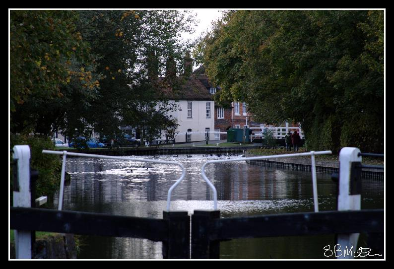 The Canal at Newbury: Photograph by Steve Milner
