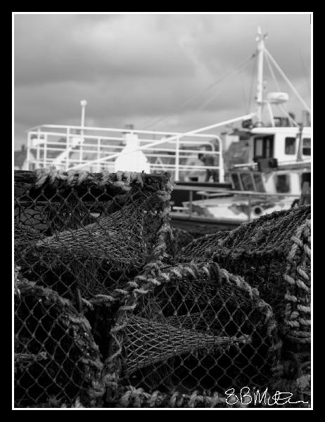 Lobster Pots: Photograph by Steve Milner