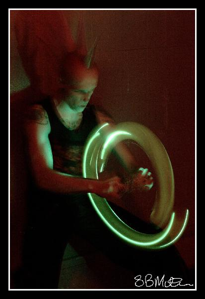 Spinning Lights: Photograph by Steve Milner