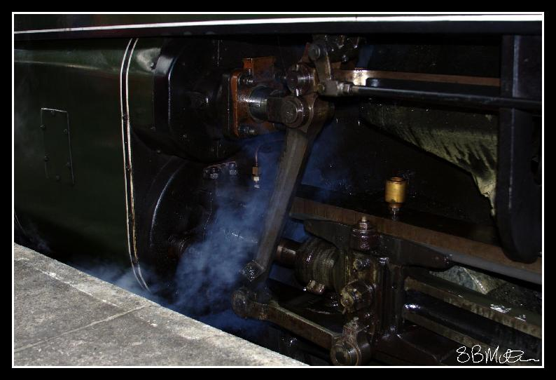 Steam Power: Photograph by Steve Milner