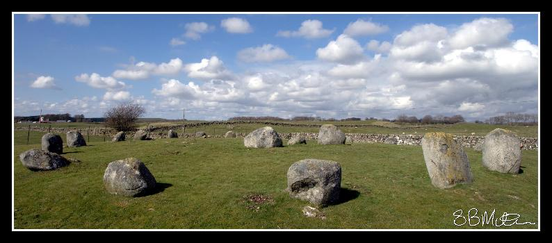 Torhouse Stone Circle: Photograph by Steve Milner