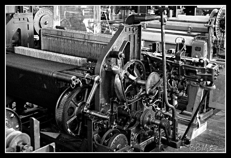 Weaving Loom: Photograph by Steve Milner