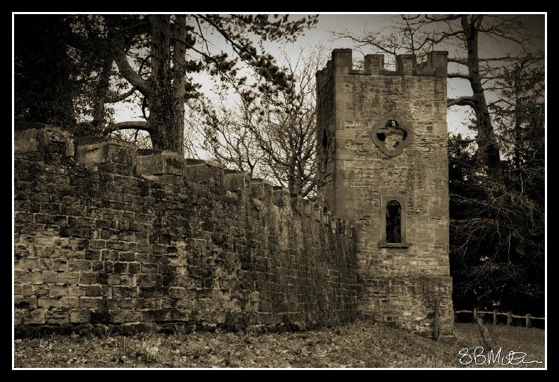 Haunted Tower: Photograph by Steve Milner