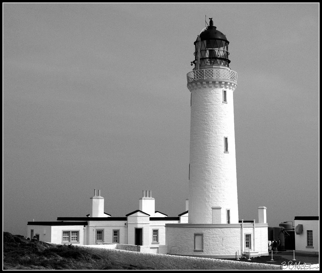 The Lighthouse at the Mull of Galloway: Photograph by Steve Milner